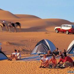 Desert Camping Dubai