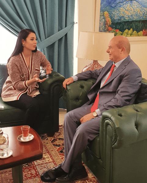 رئيسة هيئة الصادرات الزراعية في أذربيجان :  نستعد لاقامة معرض المنتجات الزراعية في أبوظبي ومدن الامارات لزيادة التبادل التجاري وتدفق الصادرات