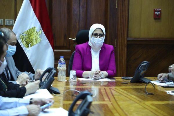 وزيرة الصحة تترأس غرفة الأزمات والطوارئ