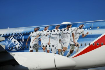 emirates real madrid
