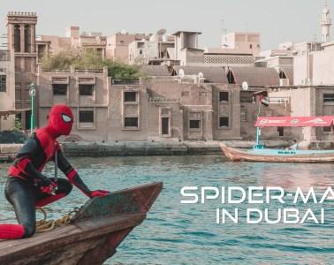 Spider-Man Dubai Tourist Spots