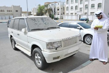 Dubai Municipality Dhs 500 fine dirty cars