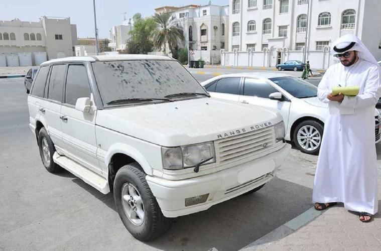 Dubai Municipality Dhs 500 fine dirty cars
