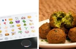 Apple Emoji Falafel