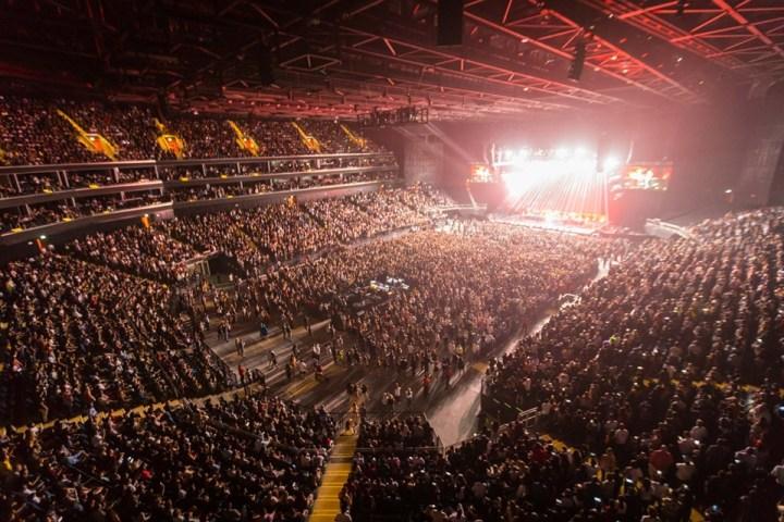 Westlife Dubai Coca-Cola Arena Concert Twenty Tour Boyband UK