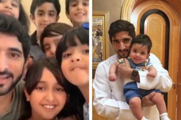 Eid Mubarak Fazza Nephews Dubai