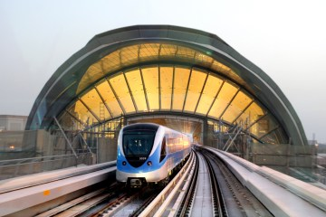 Dubai Metro Sheikh Mohammed 10 Ten Years
