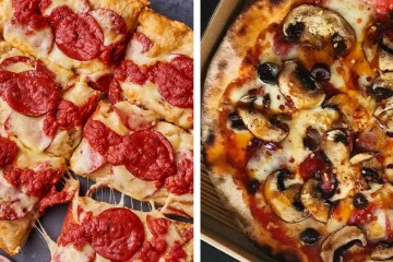 Dubai UAE Top 5 Pizza Spots Pizzerias Freedom Pizza Detroit Pizza Deep dish Cheese