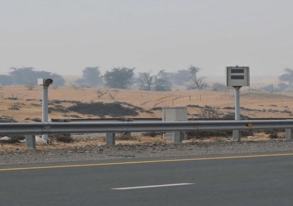 Umm Al Quwain 225 km/h Speeding Motorist Confiscation