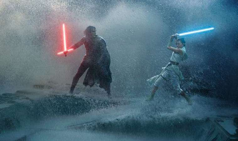 Star Wars The Rise of Skywalker Finn Rey Kylo Ren Palpatine