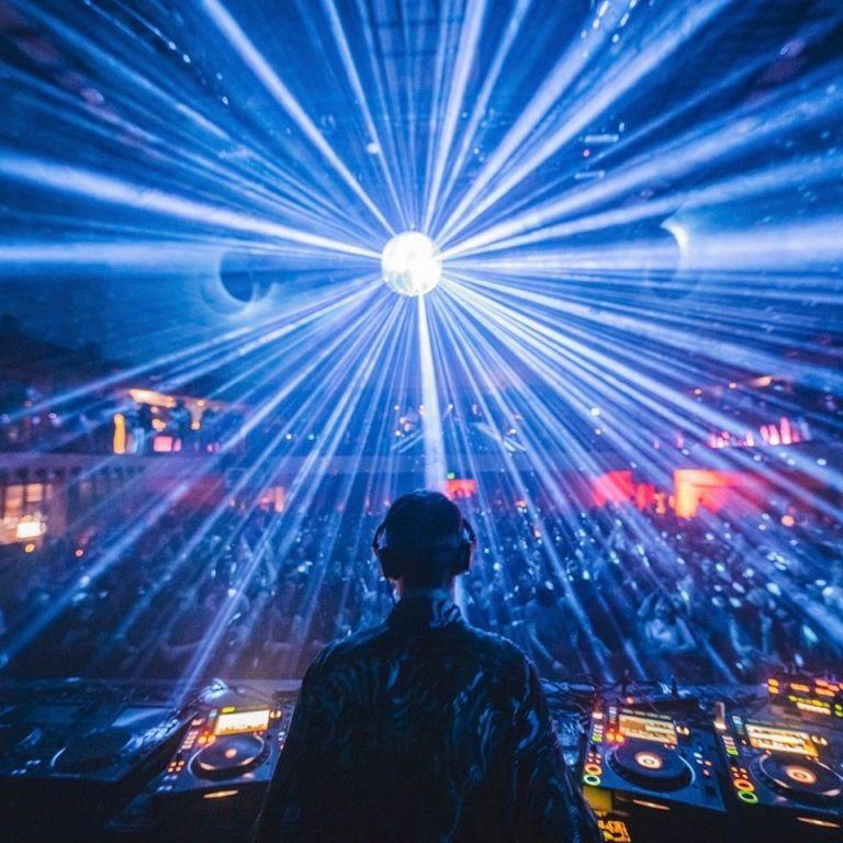 DJ Dixon Soho Garden New Year NYE Dubai