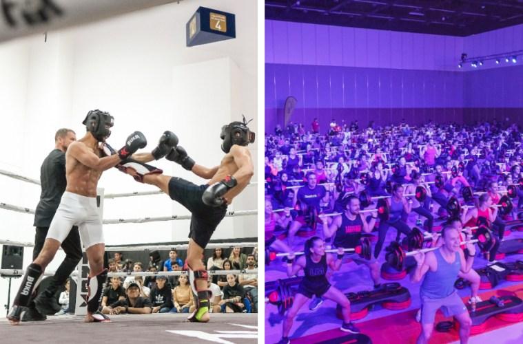 Dubai Muscle Show 2019 World Trade Centre Phil Heath Kai Greene Competitions Crossfit Goldrush Battle of the bars