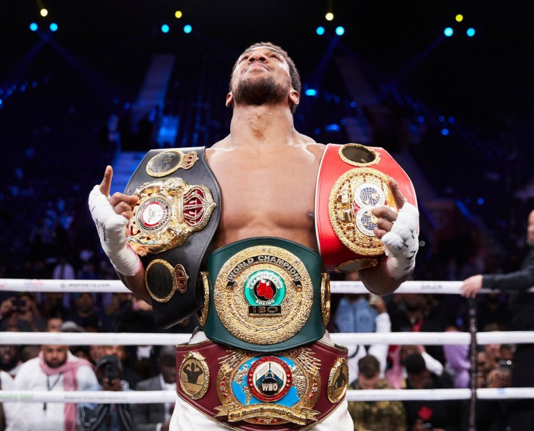 Anthony Joshua Saudi Arabia Andy Ruiz Jr Boxing Heavyweight titles