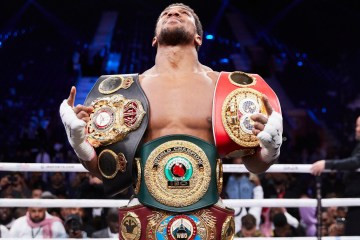 Anthony Joshua Saudi Arabia Andy Ruiz Jr Boxing Heavyweight titles
