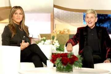 Jennifer Aniston Ellen DeGeneres The Ellen Show Abu Dhabi Giveaway Trip Vacation All Expense Paid Studio Audience