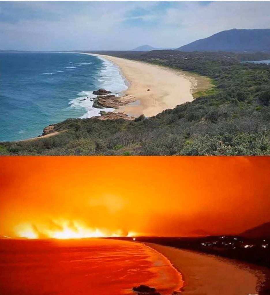 The fires in Australia keep burning