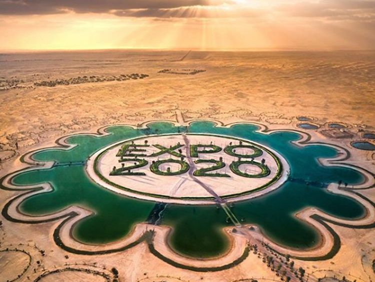 Dubai Expo2020 lake