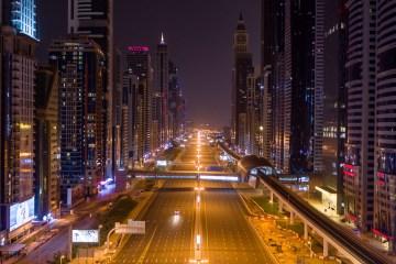 Dubai drone footage