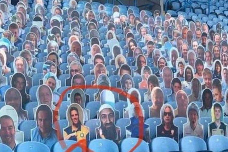 Osama Bin Laden spotted at Leeds game