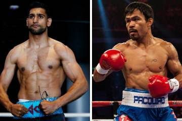 Amir Khan eyes up title fight versus Pacquiao