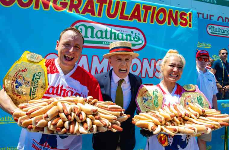 Nathan's Famous hot dog eating contest to be held in Dubai