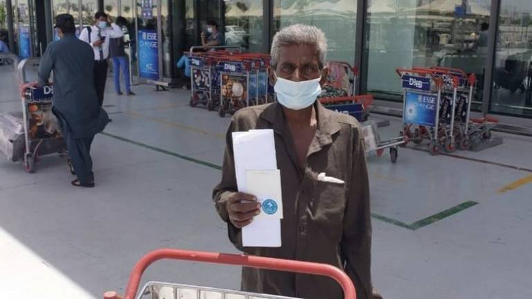 An Indian man stranded in the UAE for 16 years has finally made it home