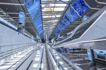 The Expo 2020 Dubai metro stations look like scenes from Star Trek
