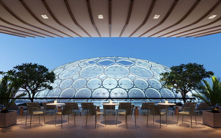 You'll soon be able to check-in at Expo 2020's only on-site hotel