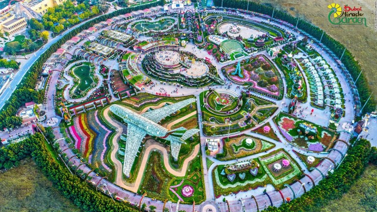 Dubai Miracle Gardens now open bigger than ever with 150 million flowers