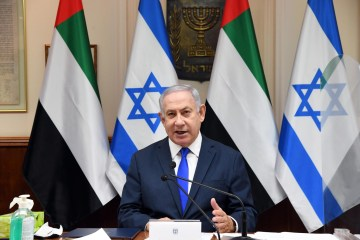 Israeli PM Benjamin Netanyahu and announces UAE visit and nominated for Nobel Peace Prize alongside Crown Prince Mohammed bin Zayed