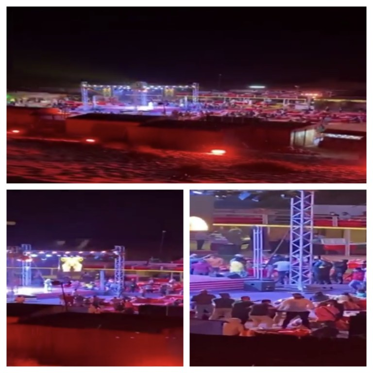 Dubai Police shut down huge illegal desert camp party