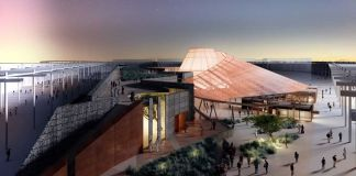 Expo 2020 Dubai unveils 'Opportunity Pavilion' made of rope, timber and stone