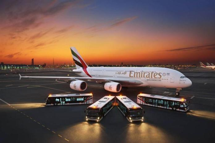 Emirates invests in new fleet of airport buses