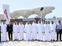 Dubai opens the UAE's first floating marine transport station