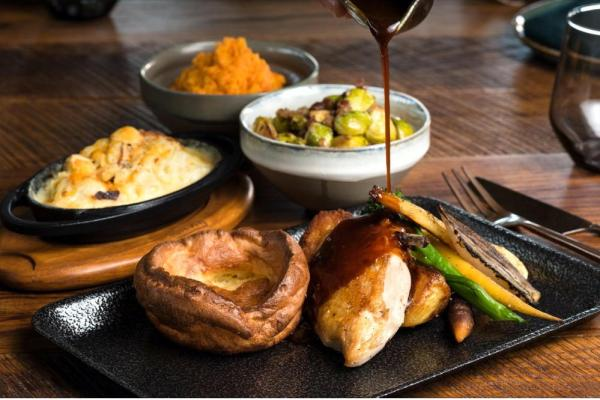 The London Project Serves Up Saturday Roast Fit for aKing and Queen