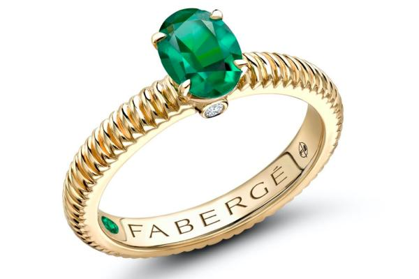 Emeralds are the birthstone of May – a time for hope and renewal