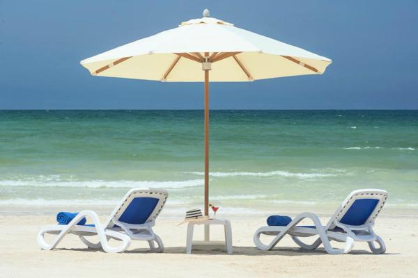 Relax and bask in the sun at Ramada Beach Ajman