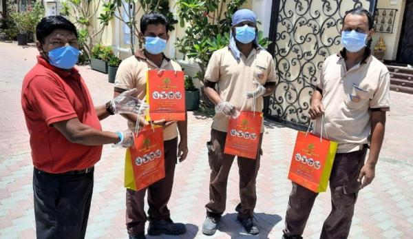 Nursery distributes groceries to hundreds of workers during the month of Ramadan