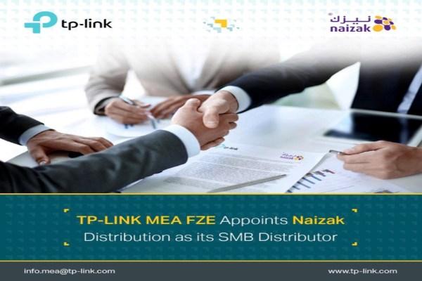 TP-Link Appoints Naizak as New Distribution Partner