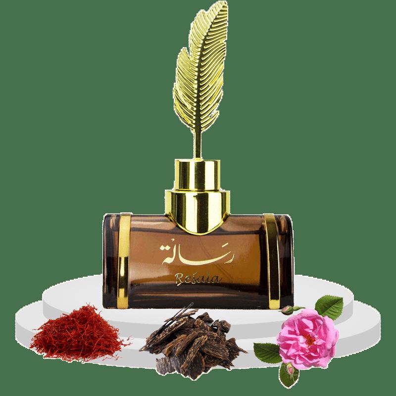 Photo Resala 2 de Arabian Oud par Dubai Parfumerie Avec Notes Olfactives Safran Rose Vanille Oud Chocolat