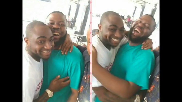 hushpuppy and davido photo together, cyber crime report