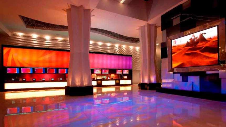 The giant 22 screen Reel Cinemas