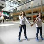 ice skating rink in dubai mall