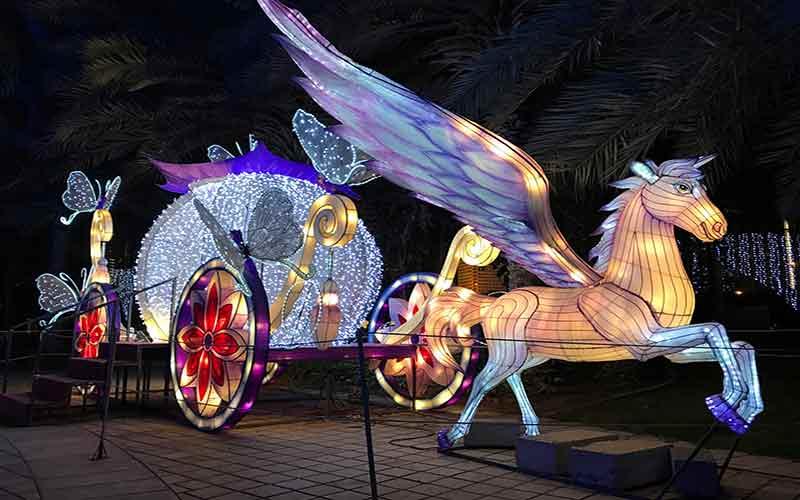 Dubai Glow Garden Image