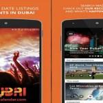 Dubai Calender App