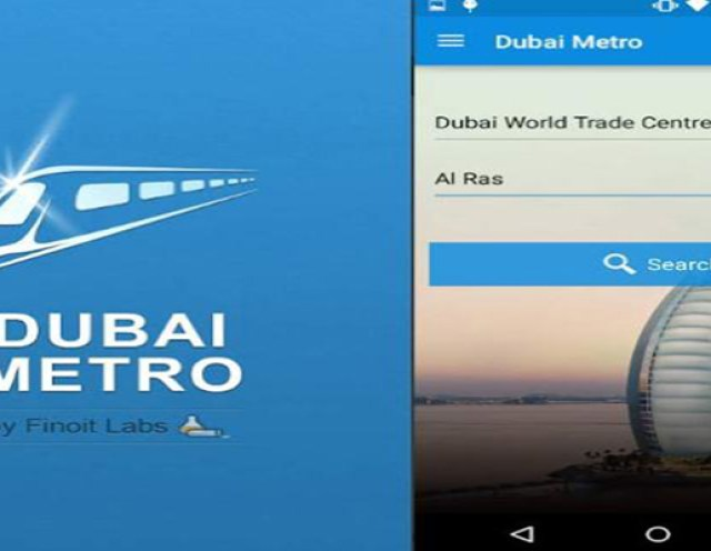 Dubai Metro Train App Image