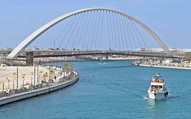 Dubai Canal View Image Dubai Water Canal