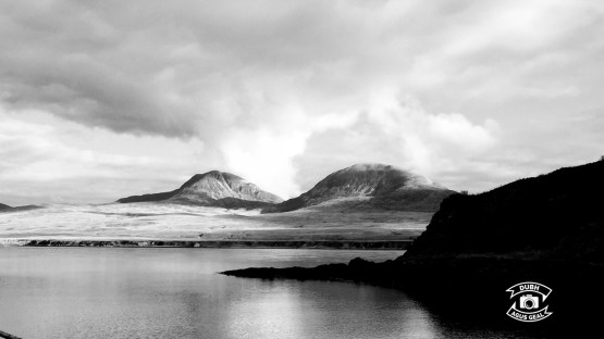 View to Jura from Bunnahabhain