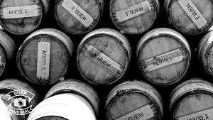 Sauternes casks at Kilchoman distillery