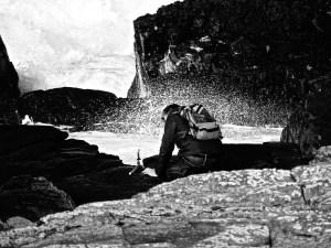 Fotografieren an der Saligo Bay - Isle of Islay / Schottland